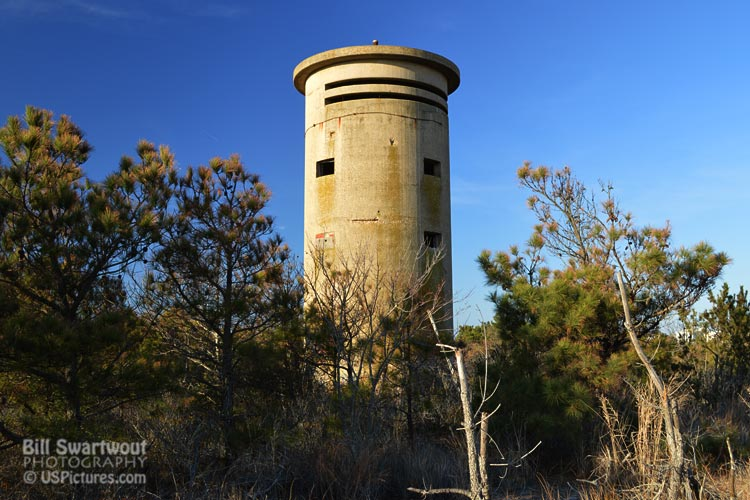 Fire Control Tower #1 - north of Fenwick Island
